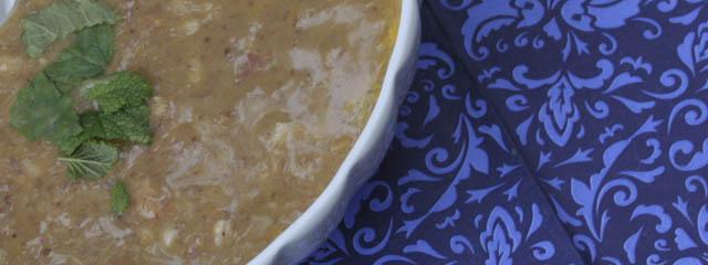 Bean barley soup - Italian Notes