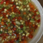 Chickpea and vegetable soup