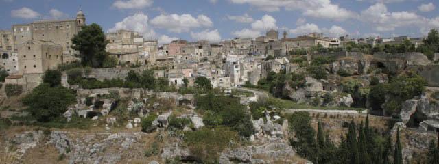 Cave towns in Puglia