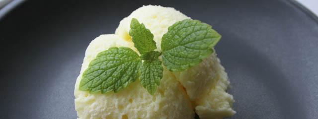 Lemon cream custard