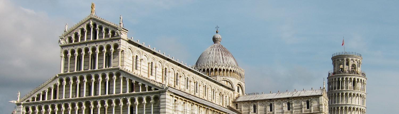 The duomo on Piazza dei Miracoli in Pisa - Italian Notes