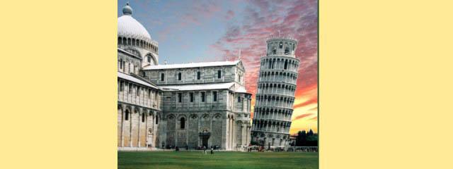 Piazza dei Miracoli in Pisa - Italian Notes