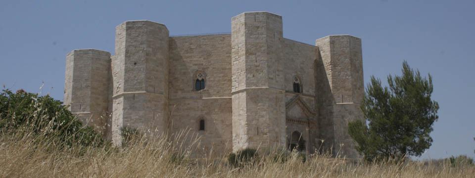 strange symmetry of Castel del Monte