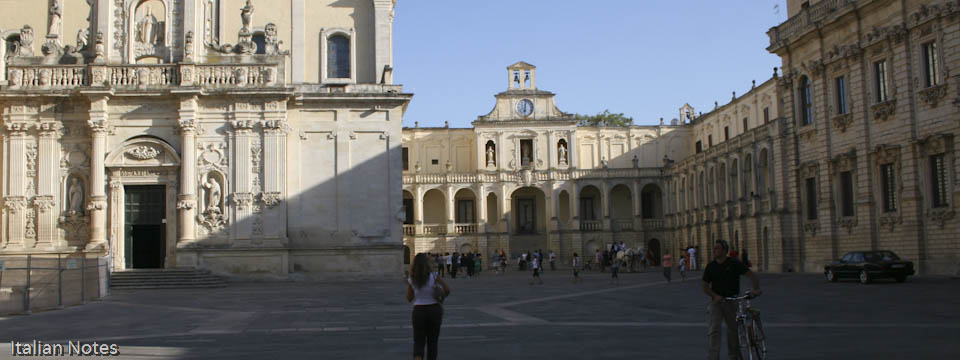 Top 5 visitor attractions in Lecce