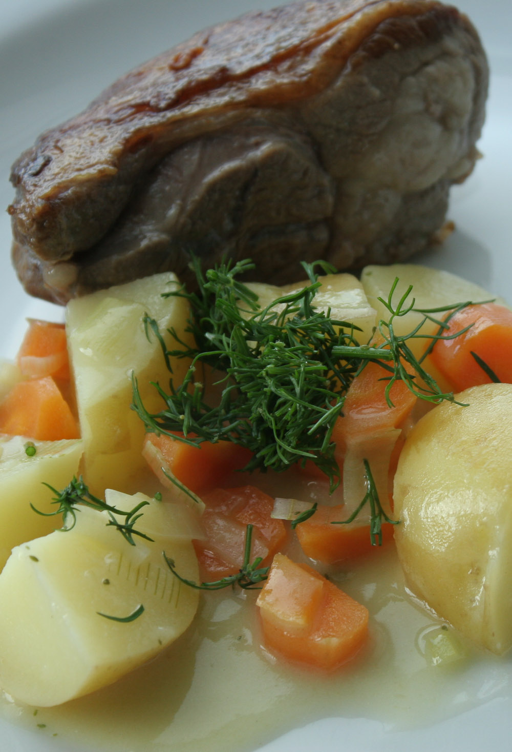 lamb recipe with dill -Italian Notes