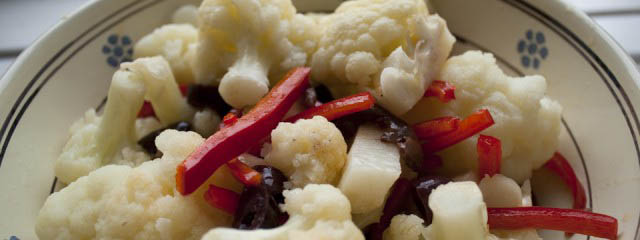 Rinforzo cauliflower salad - Italian Notes