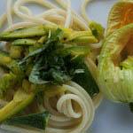 Pasta with squash and saffron - Italian Notes