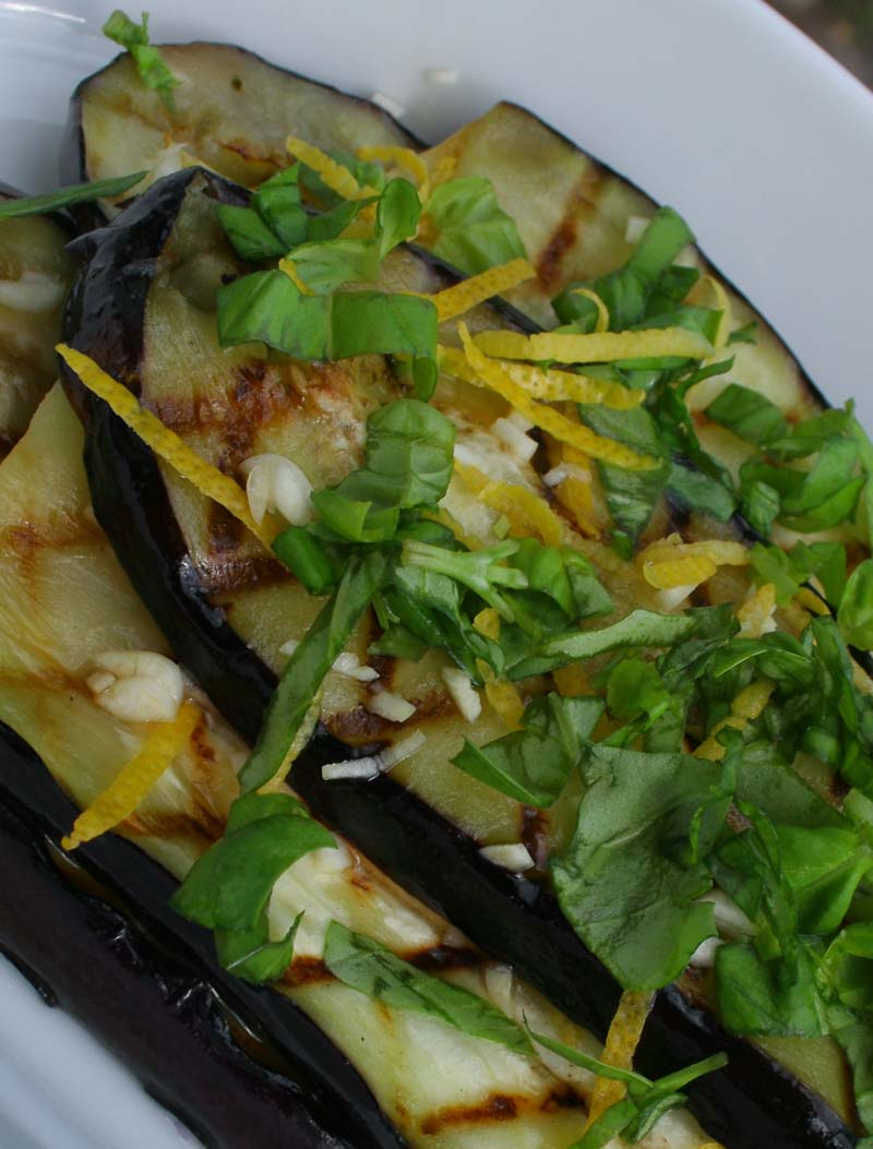 Photo of Grilled Aubergine