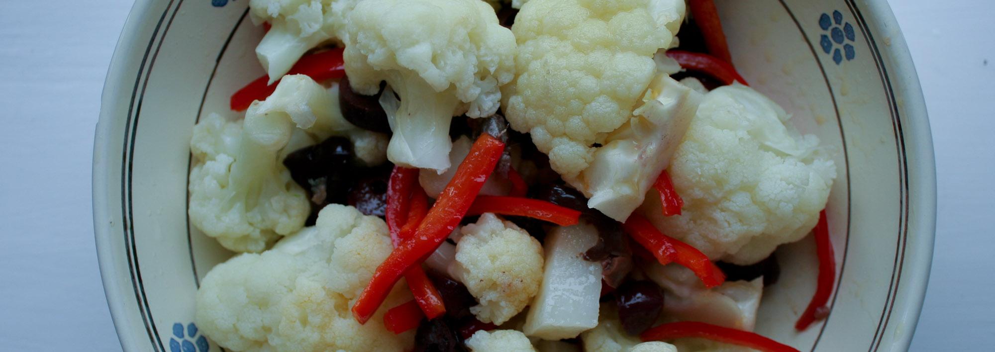 Rinforzo cauliflower salad - Italian Notes