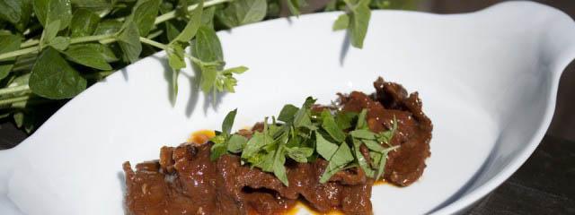 Braised beef with porcini mushrooms - Italian Notes