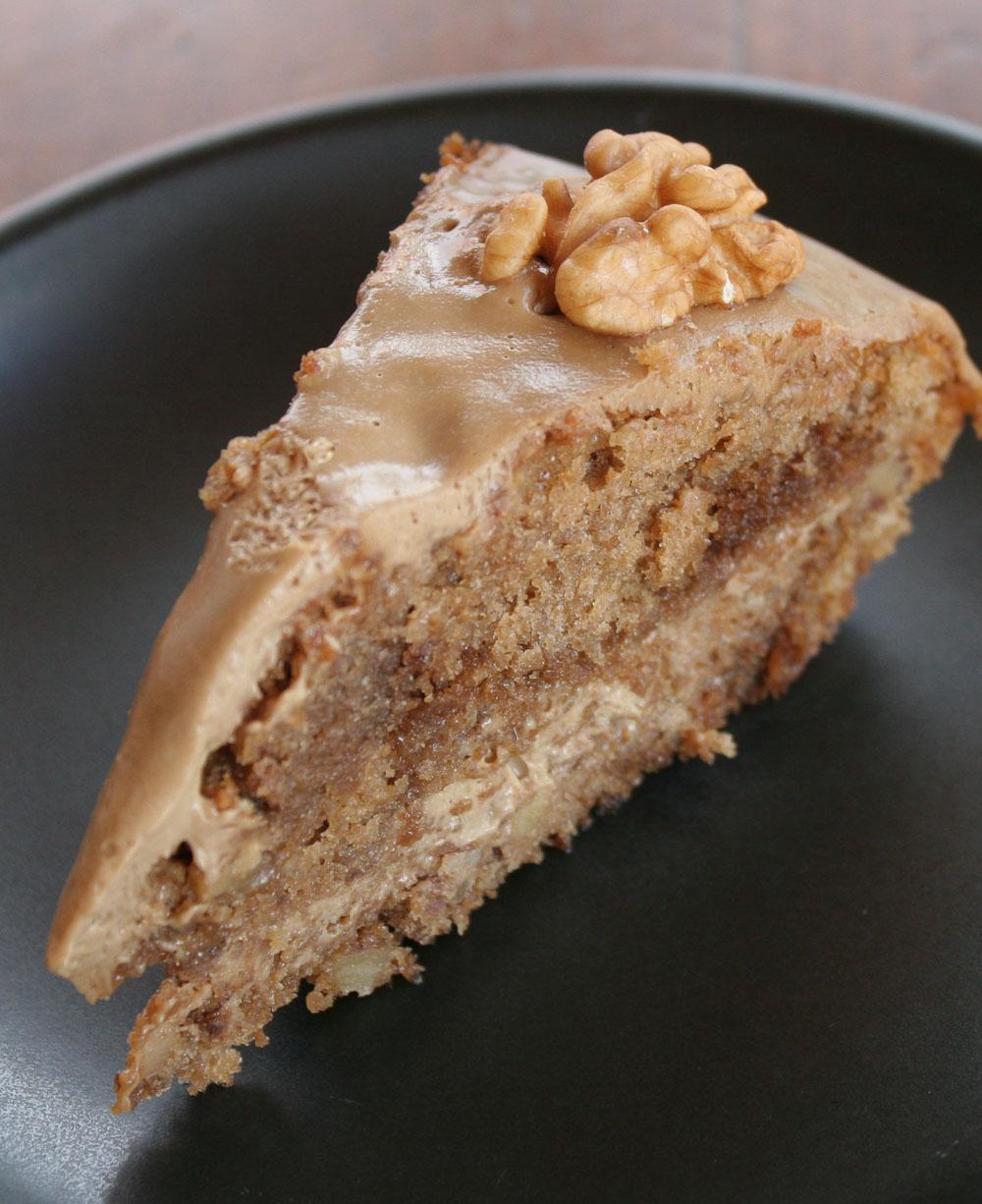 Coffee walnut cake - Italian Notes