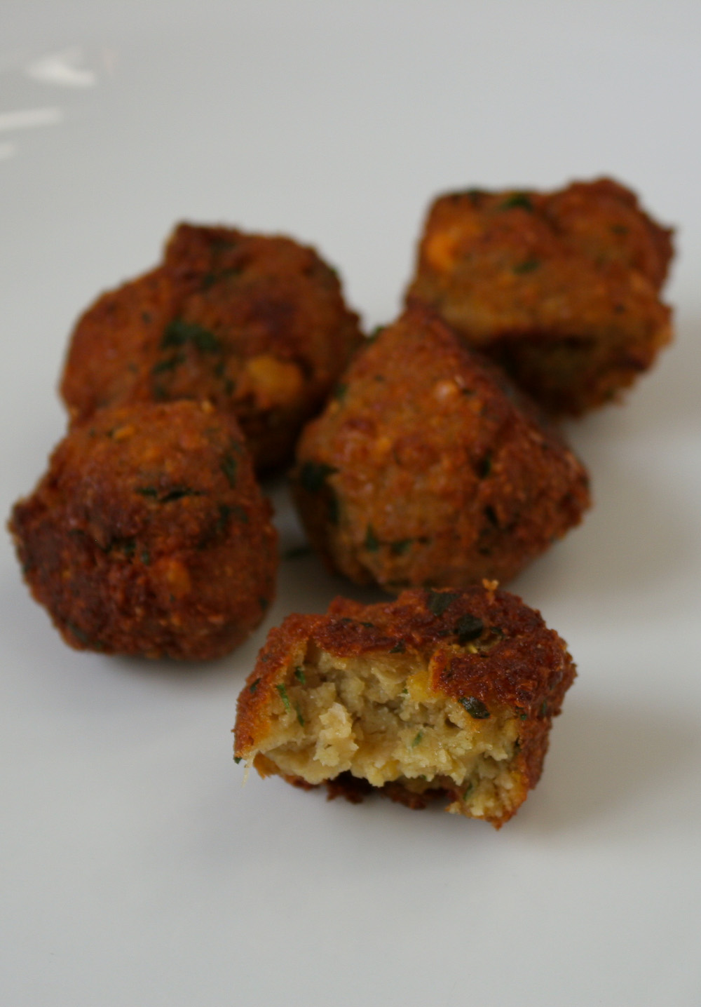 homemade falafel - Italian Notes