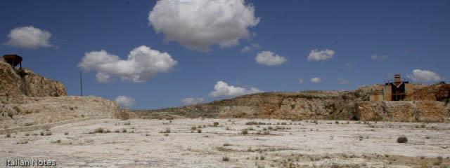 Dinosaur tracks near Altamura