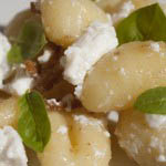 Gnocchi with butter, lemon and ricotta - Italian Notes