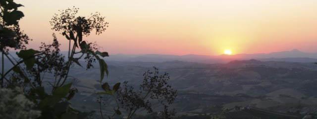 Sights around Teramo in Abruzzo