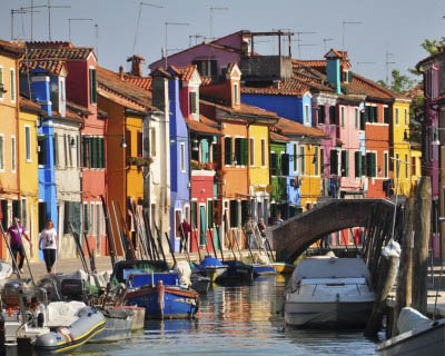Venice islands - Burano - Italian Notes
