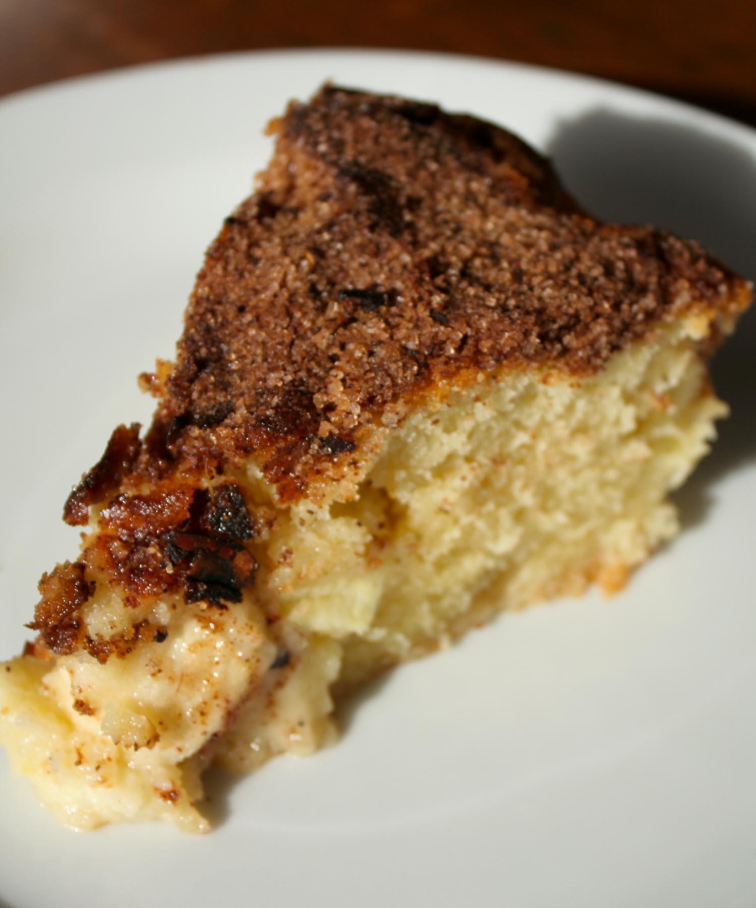 Apple spice cake - Italian Notes