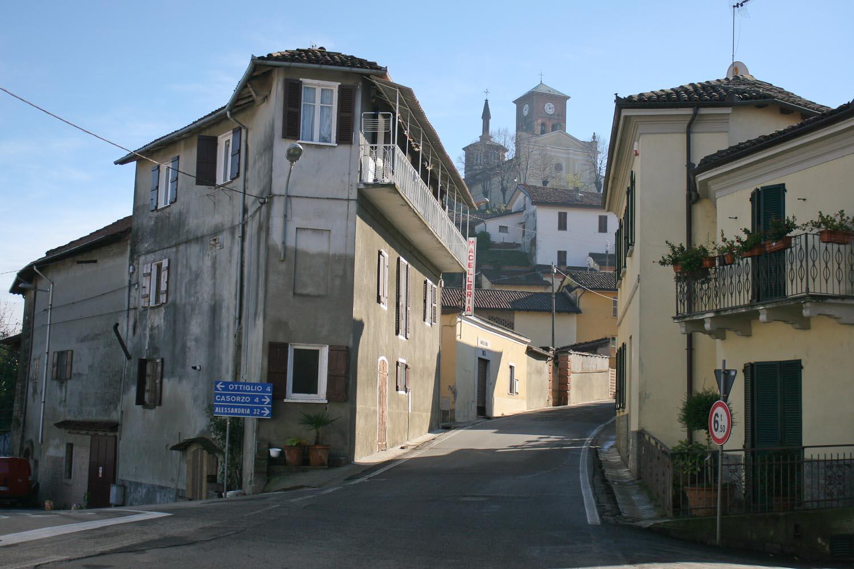 Grazzano Badoglio in Piedmont