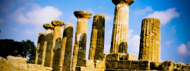 Agrigento's Valle dei Templi - Italian Notes
