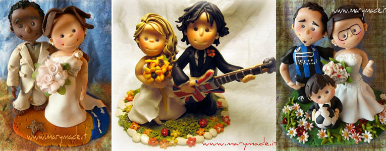 Cake Toppers for Italian Weddings