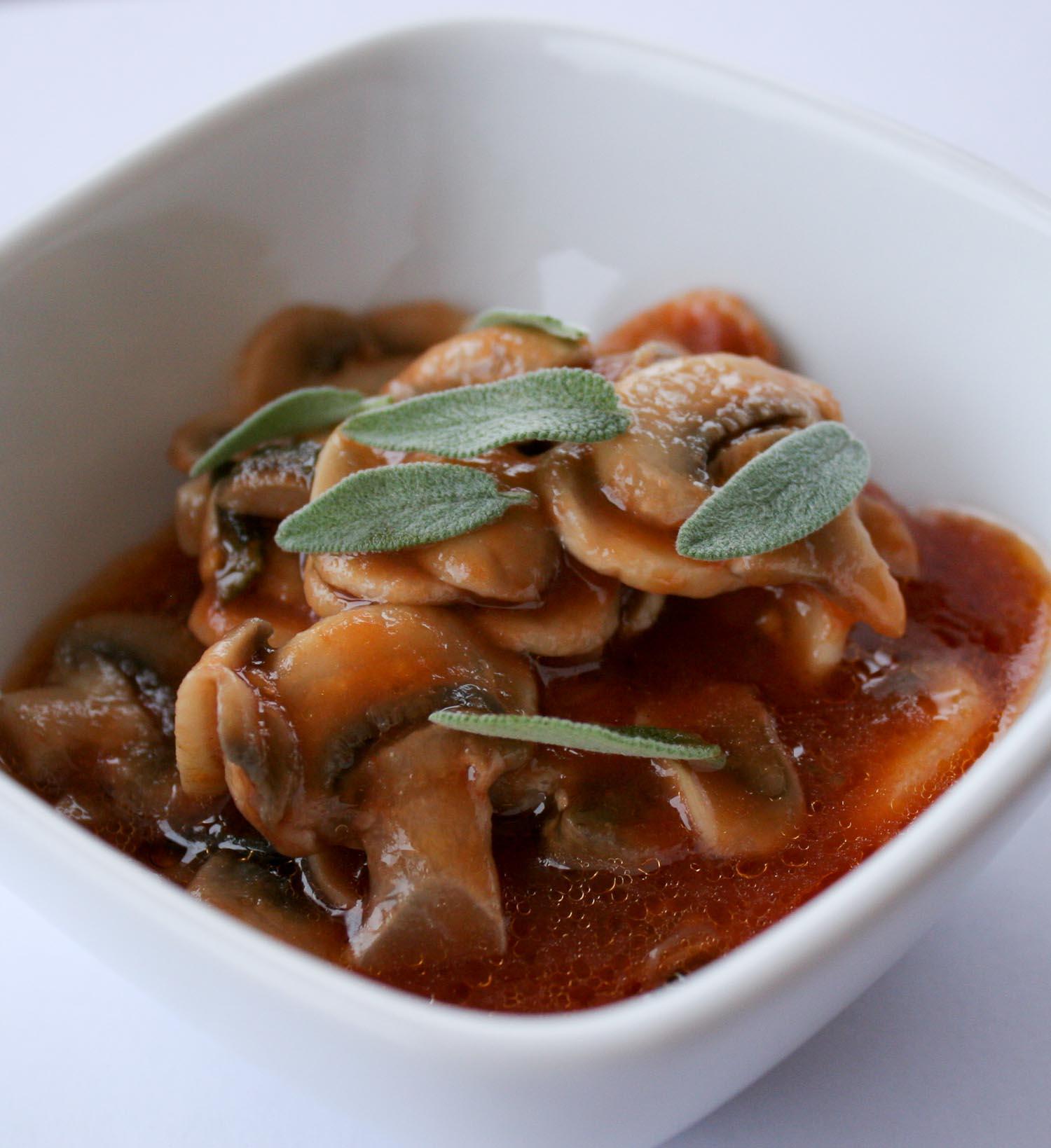 Tuscan mushrooms