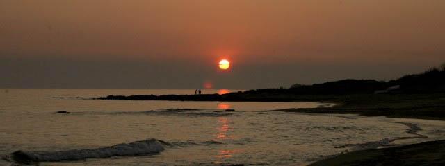 Photos of sunset in Puglia