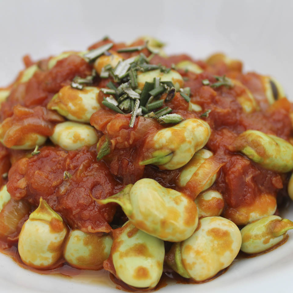 Fava beans recipe
