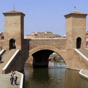 Comacchio in the Po delta