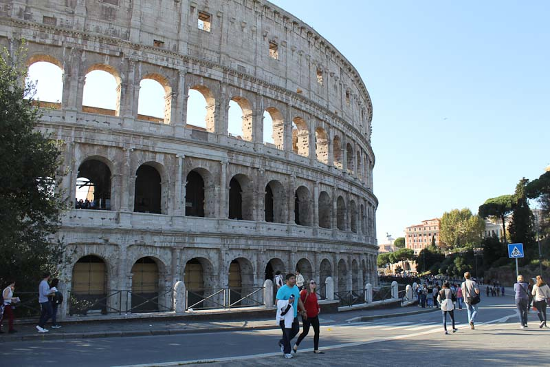 Photo of the Colosseum in Rome