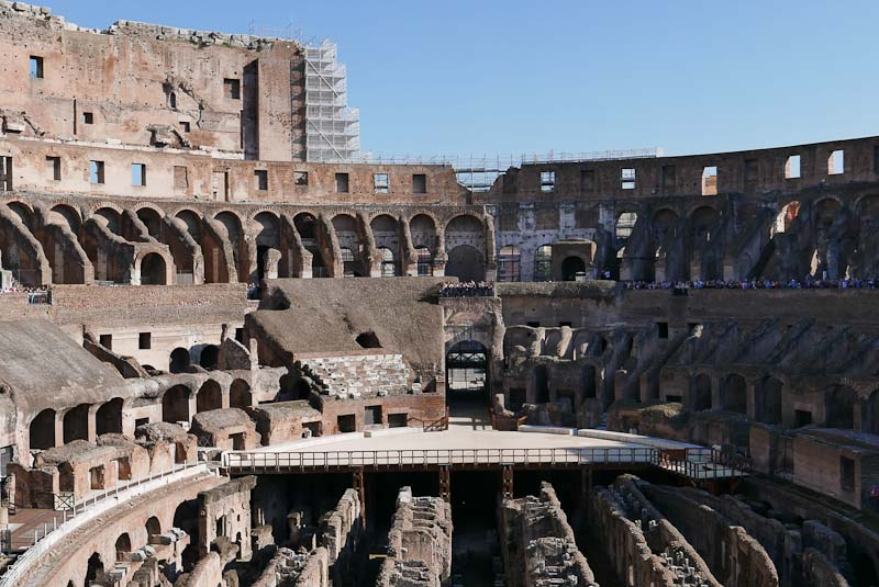 Facts about Colosseum 6