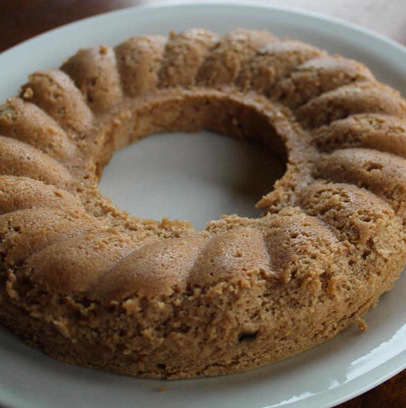Chestnut cake from Lunigiana
