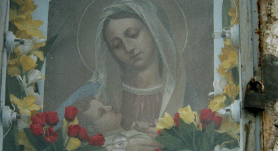Madonna and child in Italy