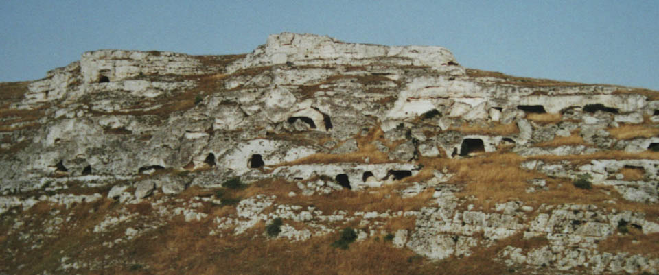 cave churches near Matera