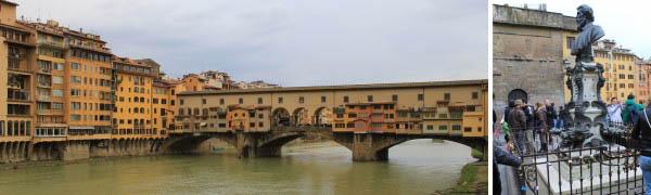Love locks on Ponte Vecchio in Florence2