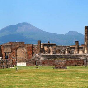 Pompeii with kids