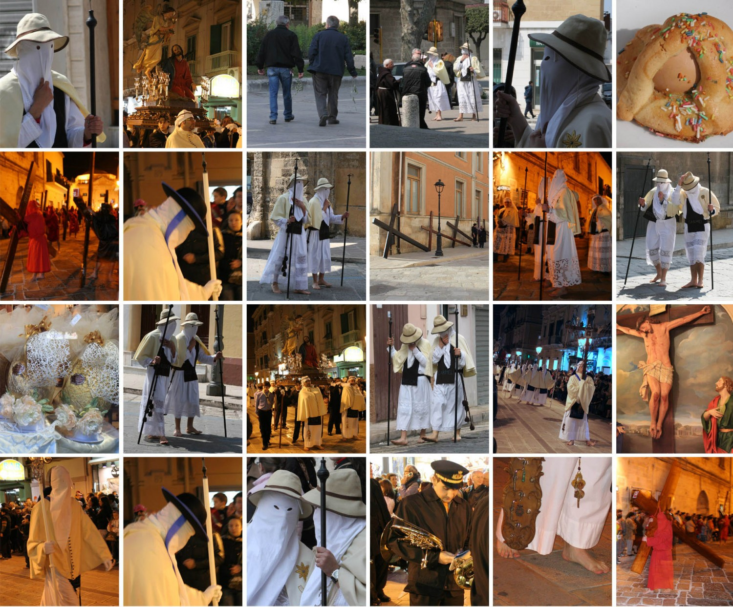 Pictures of Easter in Italy