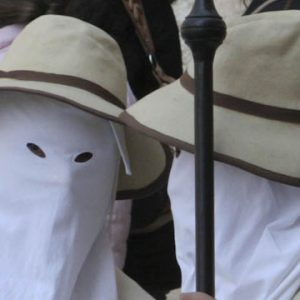 Picture of procession during Easter in Italy