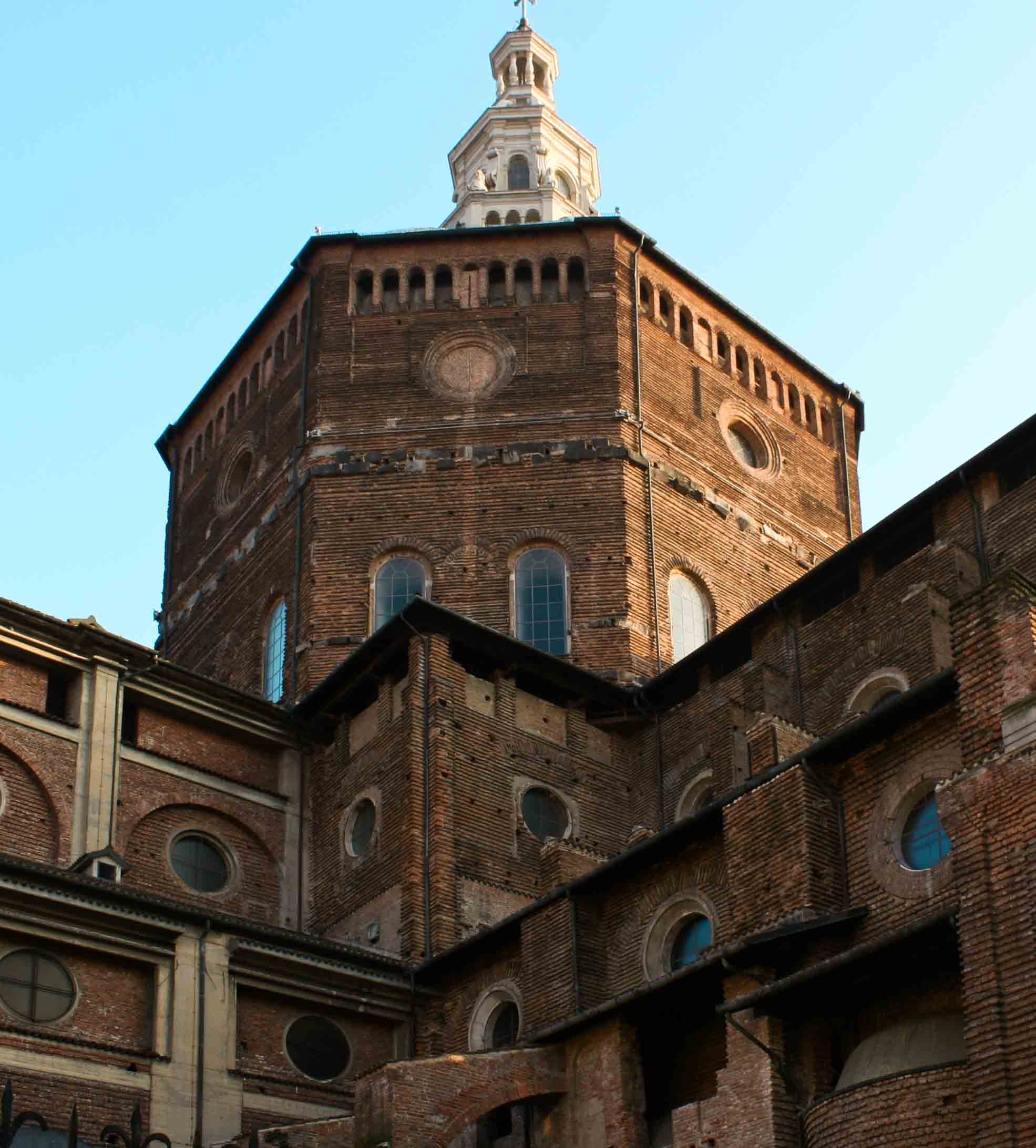 The cathedral of Pavia.