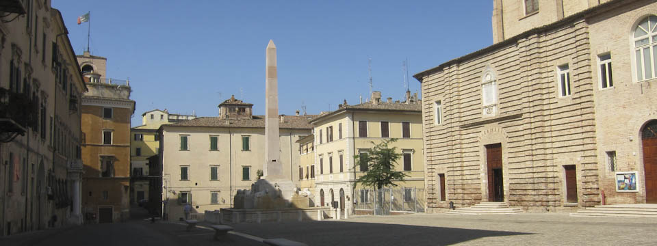 square in Jesi