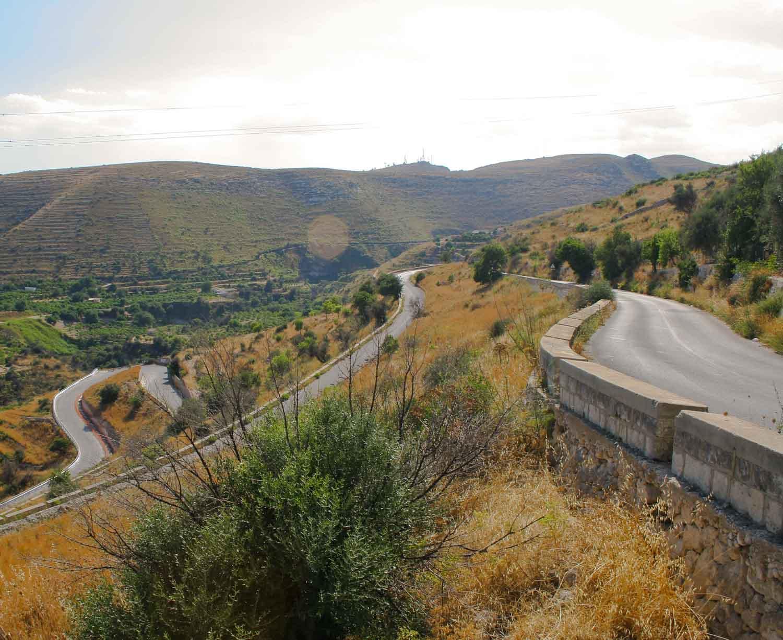 Landscape on the Southern tip of Sicily