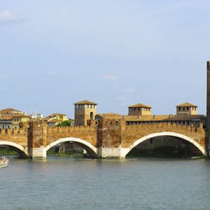 Medieval bridge in Verona