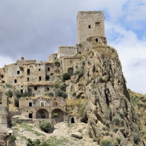Craco A ghost town in Italy
