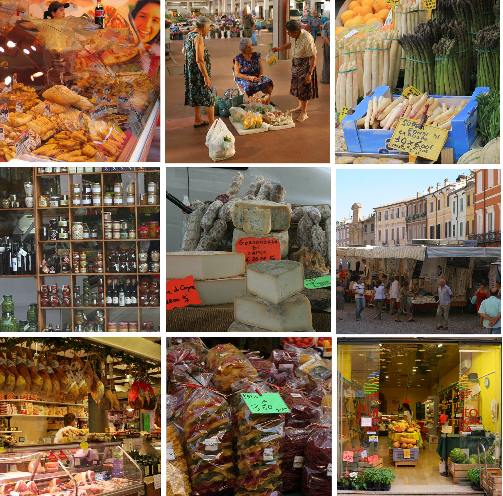 Food Shopping In EmiliaRomagna Italys Gastronomic Treasury - Emilia romagna an italian food lovers paradise