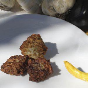 Italian eggplant croquettes