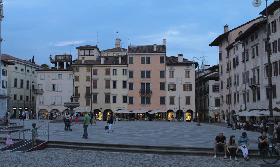 art and architecture in Udine