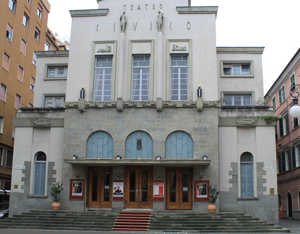 Photo Civic Theater -Things to do in La Spezia - Italian Notes