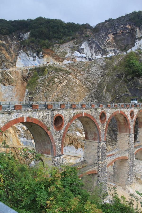 marble quarries in Carrara