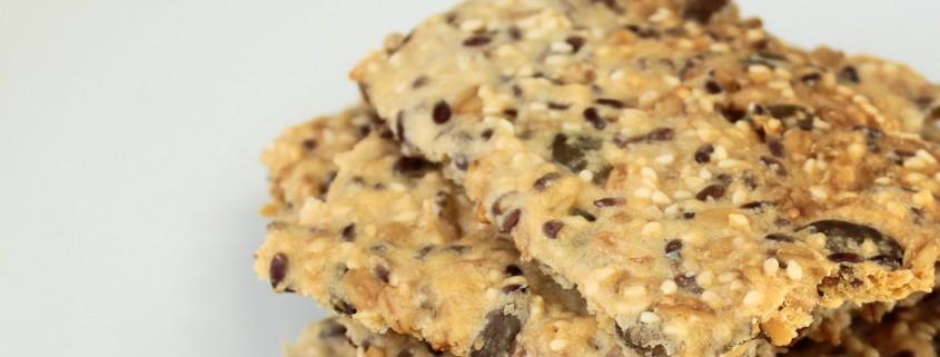 Crunchy crispbread recipe