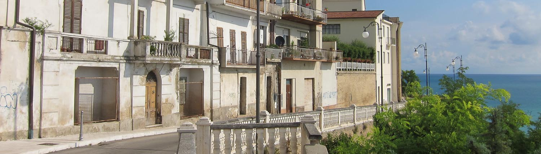 Ortona on the coast of Abruzzo
