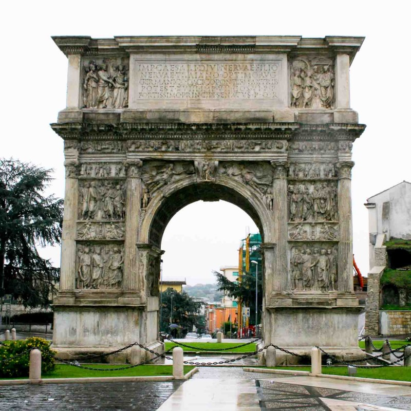 The Arch of Trajan - A Gateway to Benevento
